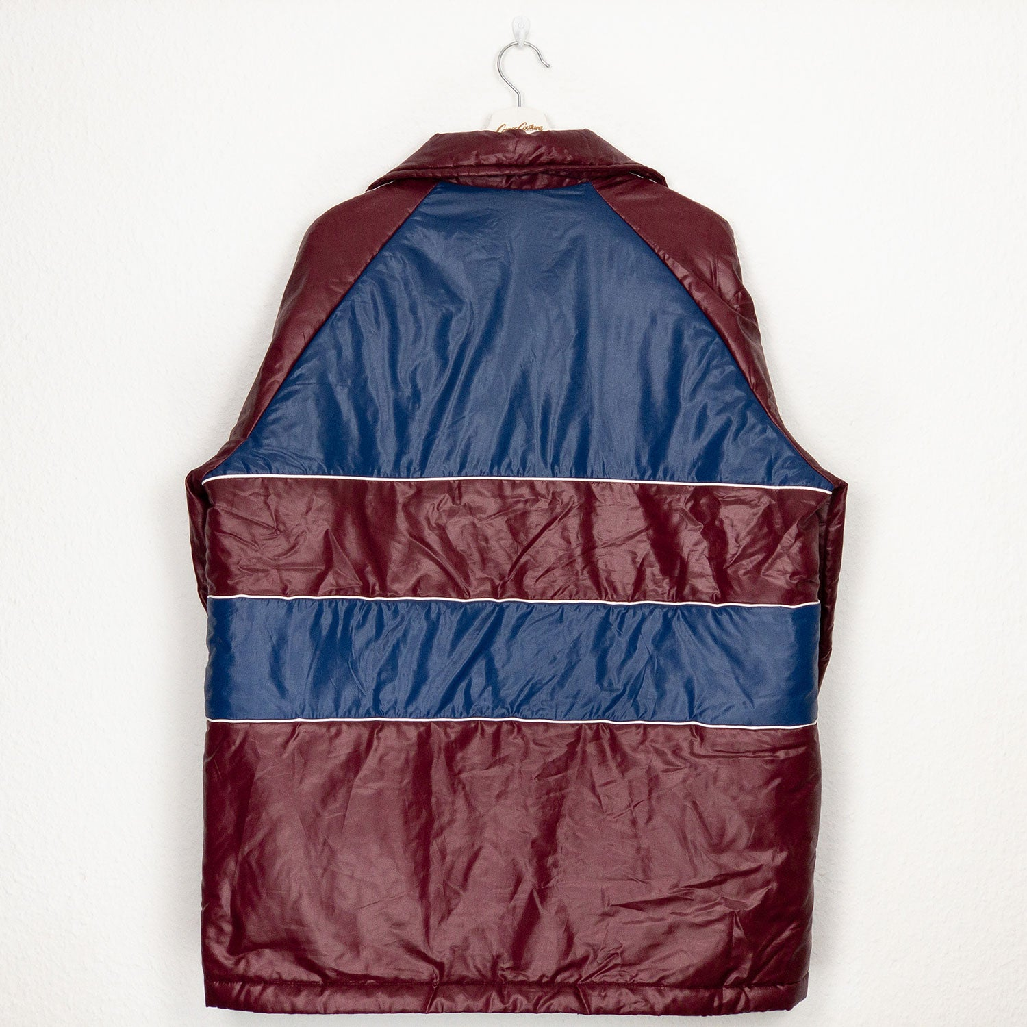 Oldschool Puffer bordeaux | XL