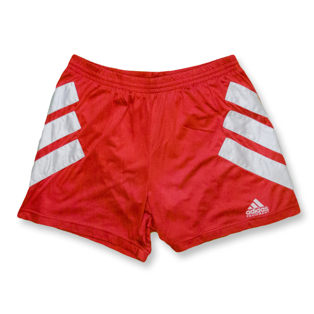 Equipment Shorts rot/weiß | M