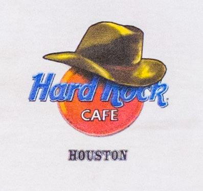 Vintage Hard Rock Cafe Houston Heavy T-Shirt | M