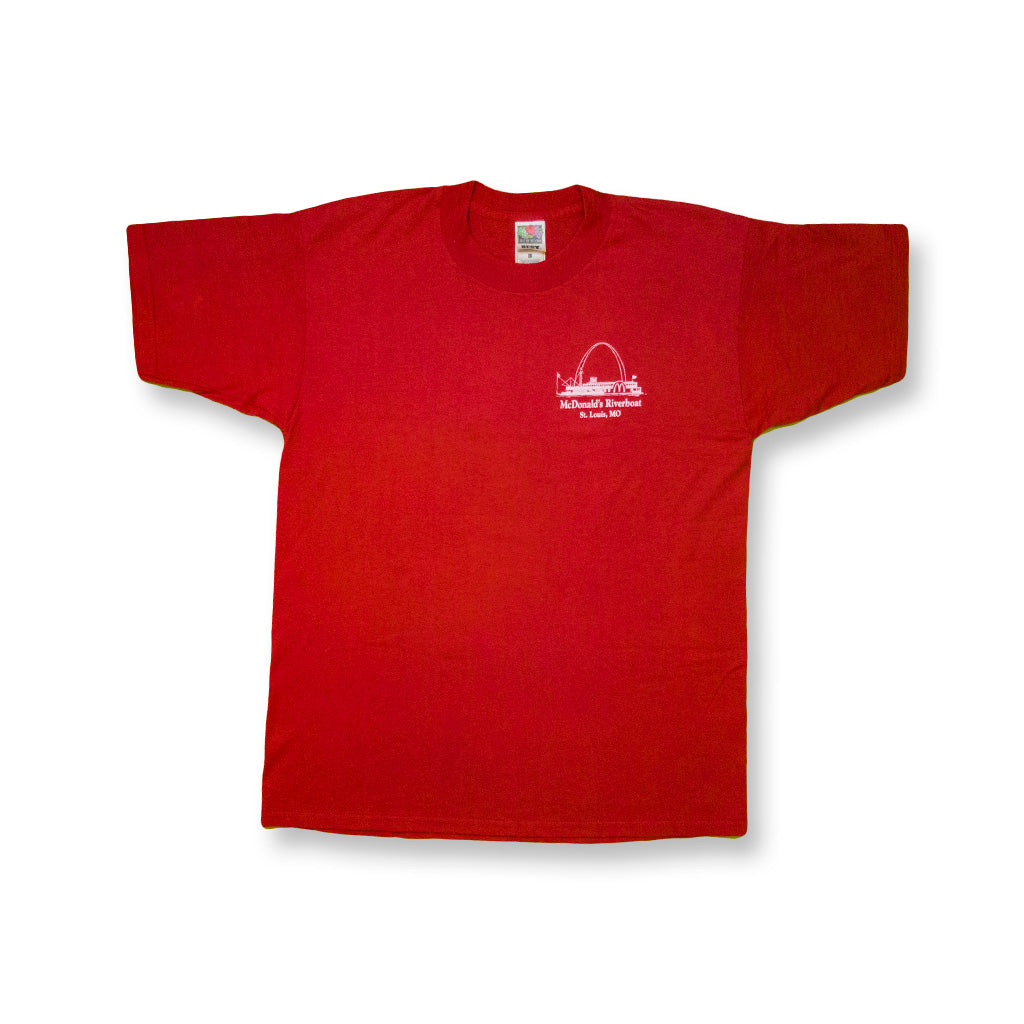 McDonald's Riverboat St. Louis T-Shirt rot | M