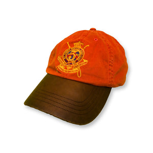 Ralph Lauren Polo Jockey Leder Cap orange