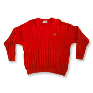 21d9140a7e01 Chemise Lacoste Pullover Classic red S rot