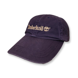Timberland Vintage Spellout Strapback Cap navy/beige