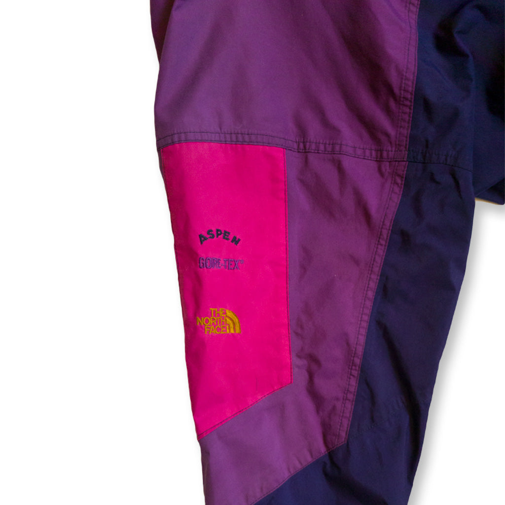 Vintage The North Face Aspen Gore-Tex Jacke lila/pink | M