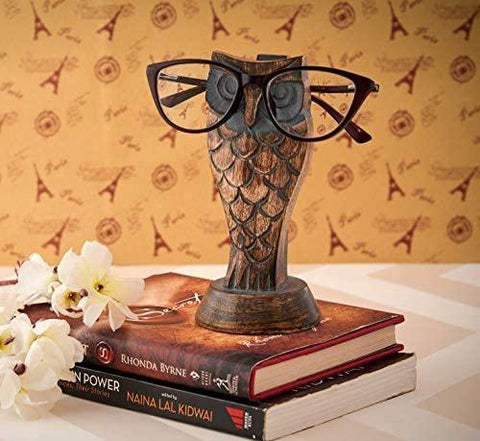 Handmade Wooden Eyeglass Holder