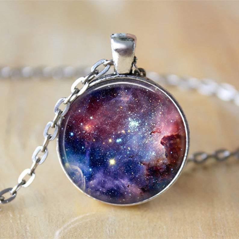 Carina Nebula Galaxy Necklace
