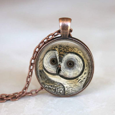 Handmade Owl Necklace