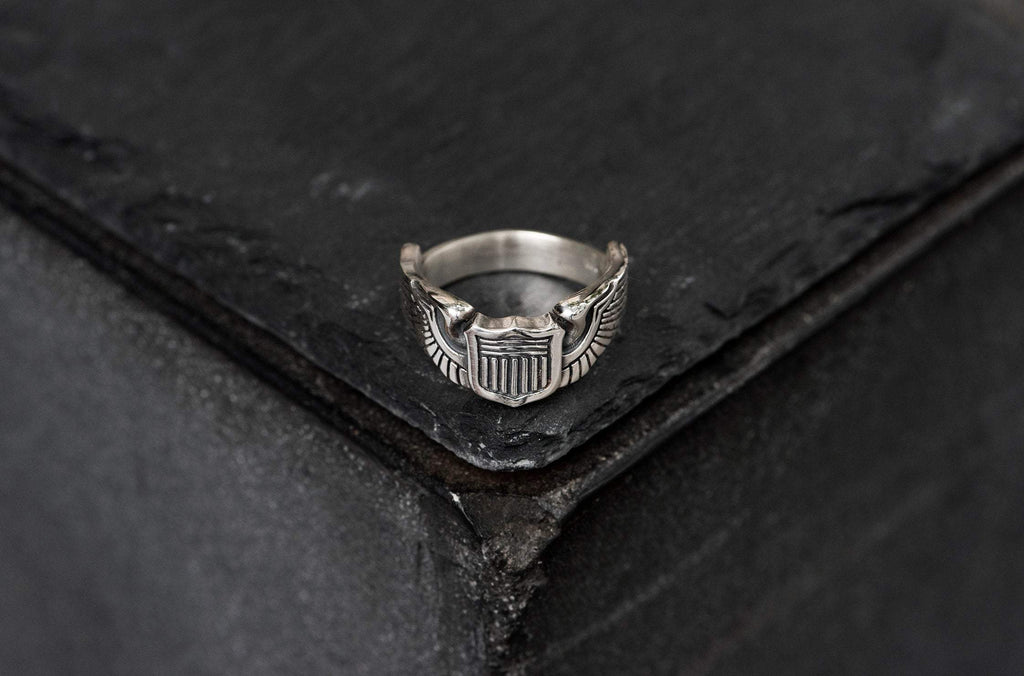 "Handmade ""The Aviator"" Ring"