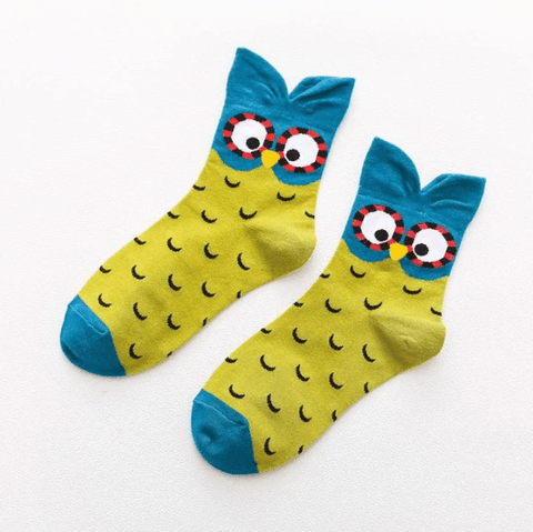 Women Owl Socks