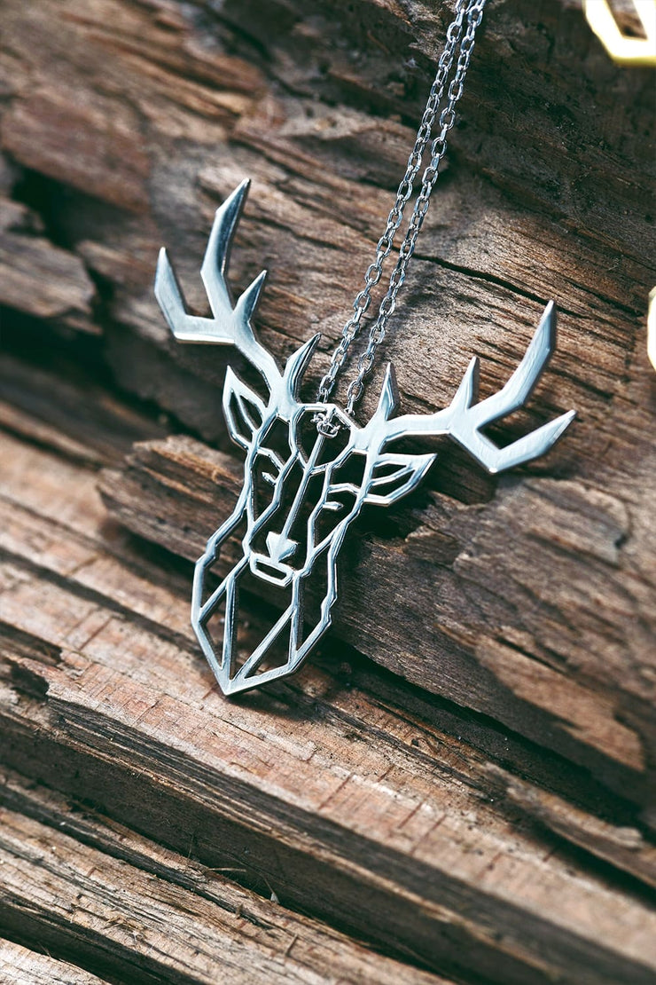 Deer Necklace - Necklace
