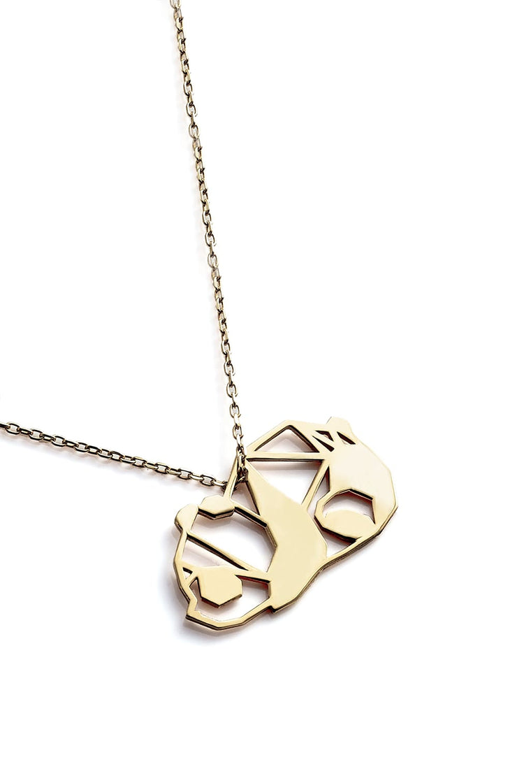 Panda Necklace - Gold - Necklace