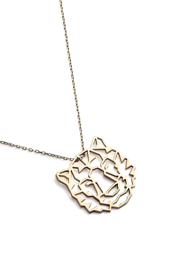 Tiger Necklace - Gold - Necklace