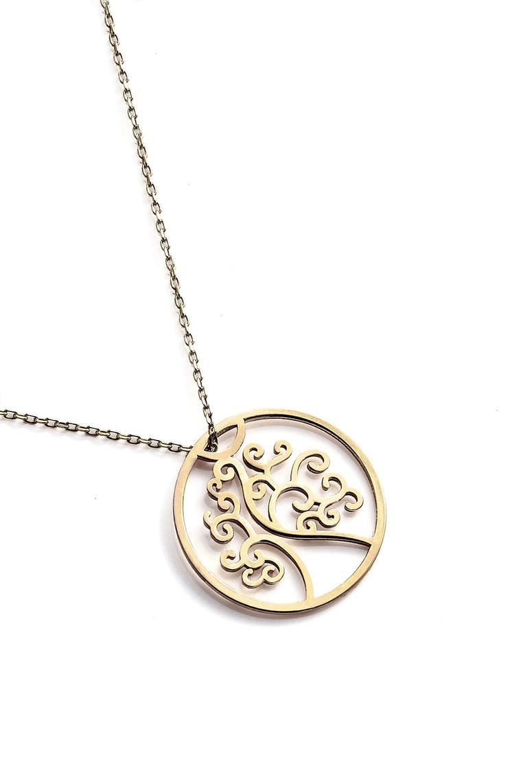 Tree Of Life Necklace - Gold - Necklace