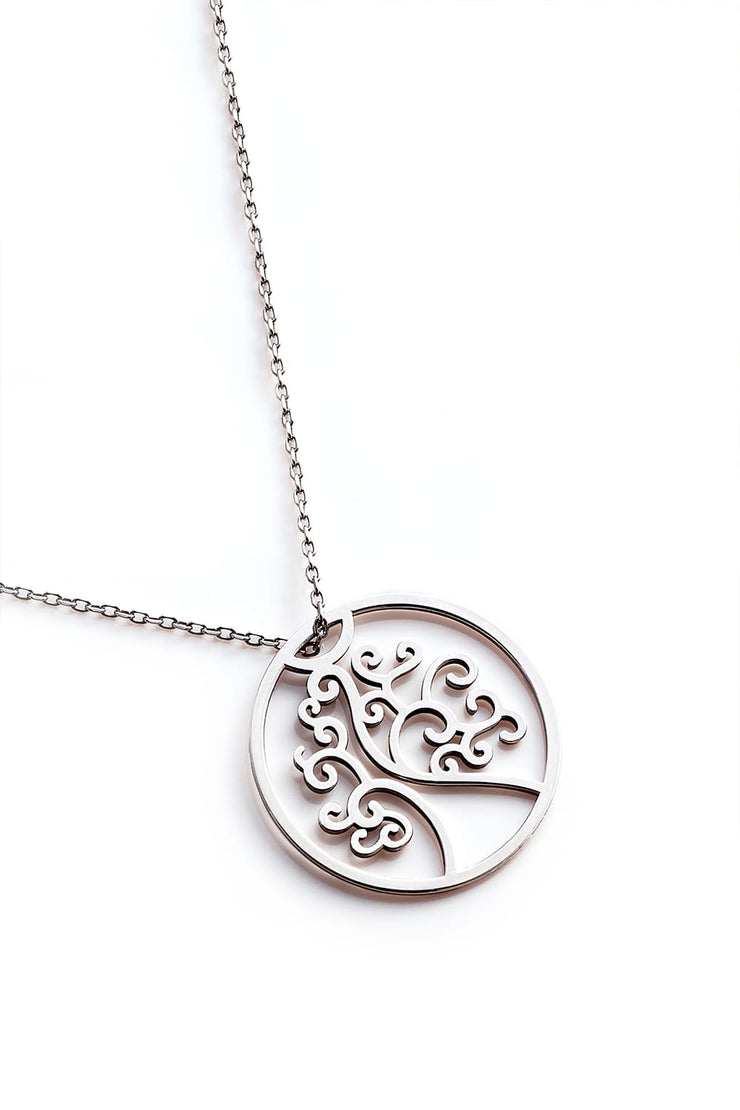 Tree Of Life Necklace - Silver - Necklace