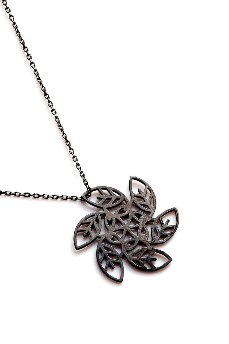Vortex Necklace - Black - Necklace