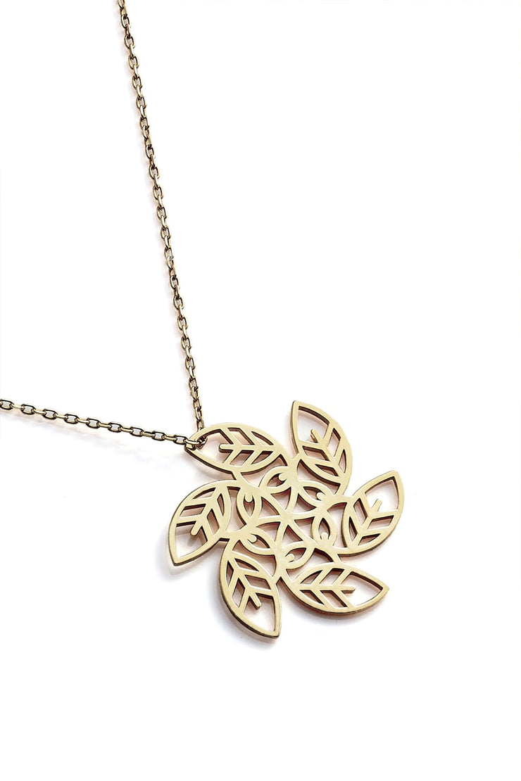 Vortex Necklace - Gold - Necklace