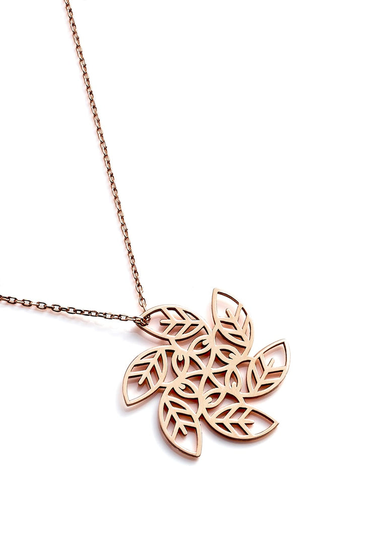 Vortex Necklace - Rose Gold - Necklace