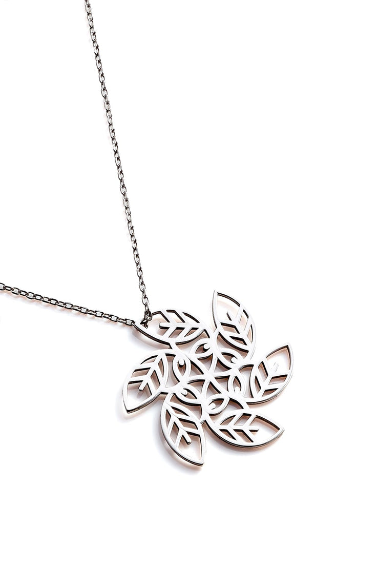 Vortex Necklace - Silver - Necklace