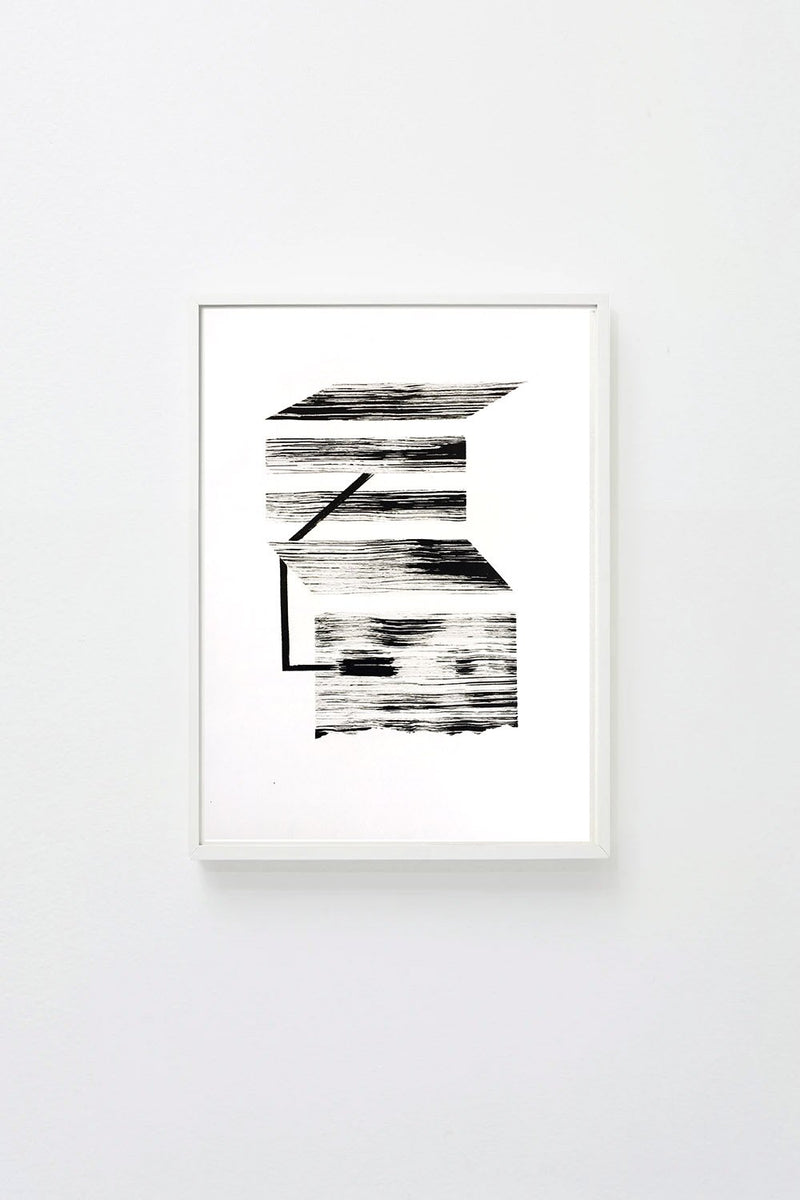"""Perspective Study 2"", framed, hung on wall."