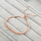 Rose Gold Charm Luxury Crystal Layered Bracelet - [neshe.in]