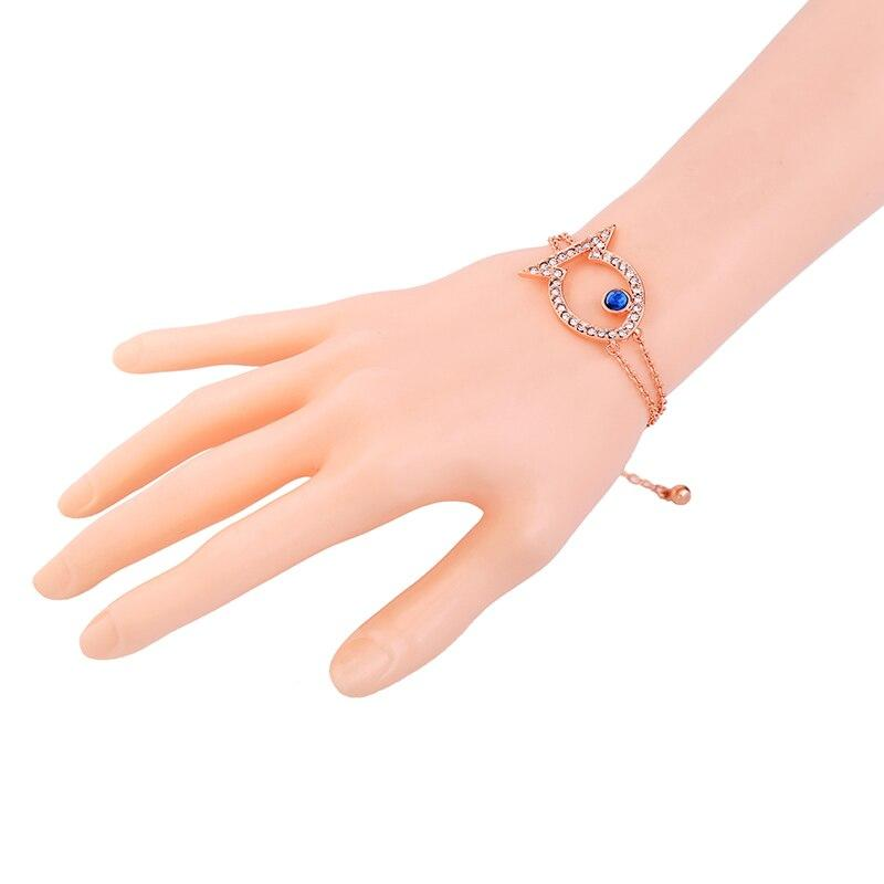 Rose Gold with Fish Charm Chain Bracelet - [neshe.in]
