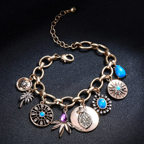 Vintage Eye Statement Bracelet Design Bracelet Fashion - [neshe.in]