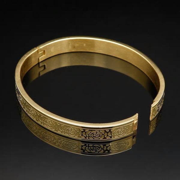 Golden Eternity Love Craving Cuff Bracelet
