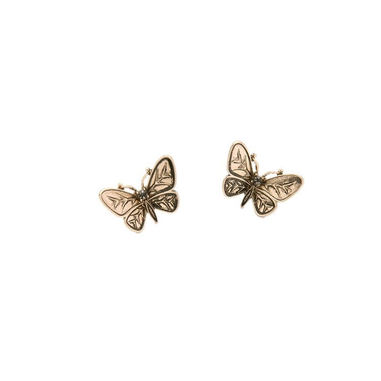 Antique Butterfly 2 in 1 Convertible Earring