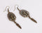 Vintage The Indian Avatar Design Dangle Earrings - [neshe.in]