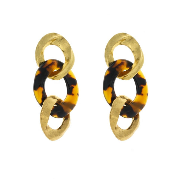 Trendy Geometric Acrylic Dangle Earring