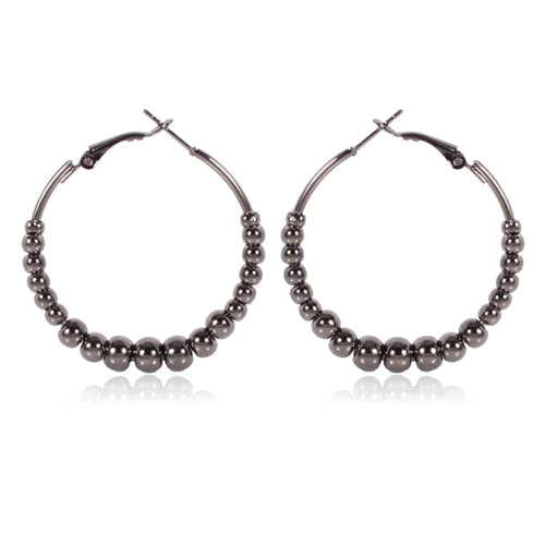 Big Trendy Fashion Hoop Earrings - 2 Colors - [neshe.in]