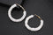 Austrian Crystal Round Circle Hoop Earrings - [neshe.in]