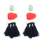 Fringe Statement Tassel Earrings - 5 Colors - [neshe.in]