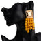 Golden Stud with Beaded Tassel - 4 Colors - [neshe.in]
