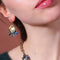 Classic Irregular Geometric Drop Crystal Earrings - [neshe.in]