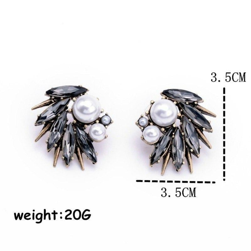 Irregular Pearl Party Stud Earrings - 7 Colors - [neshe.in]