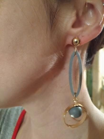 Vintage Circle Geometric Drop Fashion Earrings - [neshe.in]