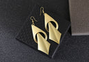 Multilayer Geometric Fashion Golden Drop Dangle Party Earrings - [neshe.in]