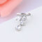 Water Drop Clip CZ Crystal Jackets Ear Cuff - [neshe.in]