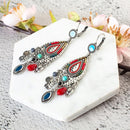 Wedding Drop Ethnic Styled Earring - [neshe.in]