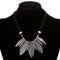 Vintage Geometric Texture Acrylic Choker Necklace - 3 Elegant Colors - [neshe.in]