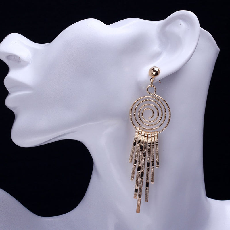 New Fashion Alloy Style Vintage Drop Earrings - [neshe.in]