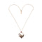 Bird Necklaces Metal Vintage Flower Pendant Necklace - [neshe.in]