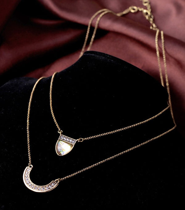Choker Geometric Layer Necklace & Pendants  Jewelry - [neshe.in]
