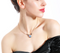 Charming Heart Pendant Necklace Earrings Set - [neshe.in]