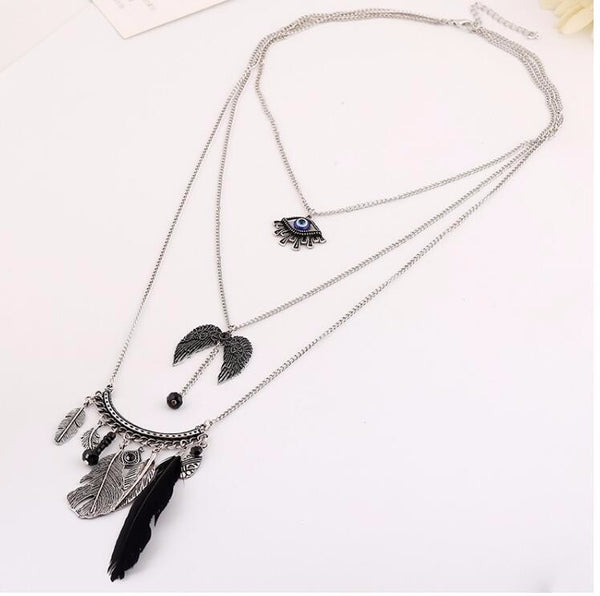 Bohemian Style Handmade Tassel Necklace - [neshe.in]