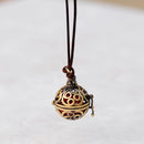 Long Necklace Vintage women statement necklace & locket pendant - NN - [neshe.in]