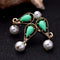 Simulated Pearl Statement Women Pearl Ring - [neshe.in]