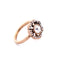 Vintage Crystal  Flower Ring For Women Floral Burst Ring Jewelry - [neshe.in]