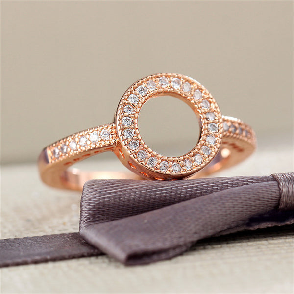 Crystal Party Hollow Ring for Parties -2 Color - [neshe.in]
